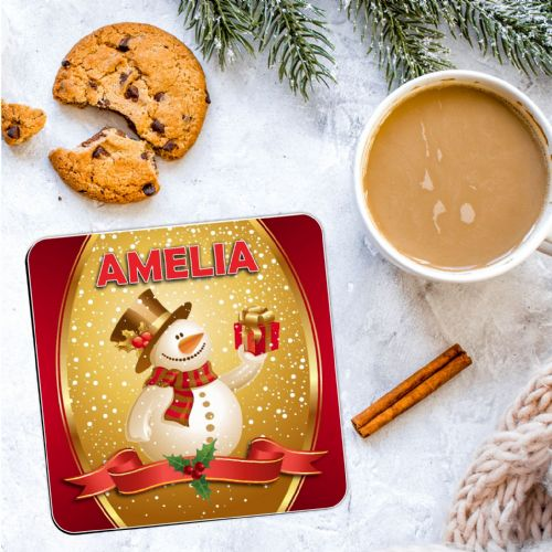 Personalised Christmas Coaster N23  - ANY NAME